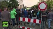Германия: Жители се бунтуват срещу настаняването на още бежанци в Гросрьорсдорф
