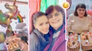 Цвети Стоянова с много мил кадър и послание за своята баба, но и една новина