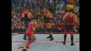 Кърт Енгъл срещу Кейн хардкор мач