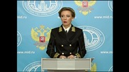 Russia: Zakharova brands claim Russia collapsed intra-Syria talks an 'outright lie'