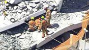 Мост се срути в Маями, има загинали