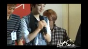 [fancam] 111010 The Back Of My Hand Brushes Against (l.joe Focus) Power Time Radio