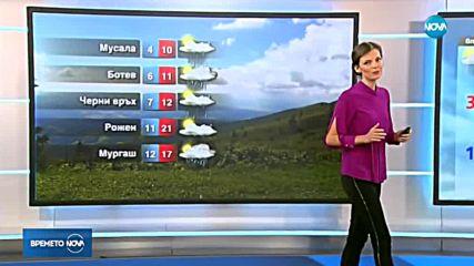 Прогноза за времето (21.08.2018 - обедна емисия)