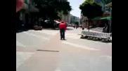 Загащен рапър В Центъра На Пловдив
