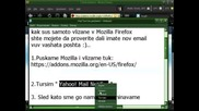 Mozilla Firefox Yahoo! Mail Notifier
