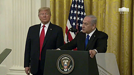 USA: Netanyahu thanks 'greatest friend' Trump for peace proposal