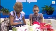 Катерина Маринова - топка - Нанджин 2014