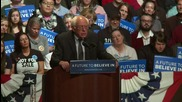 USA: Sanders takes aim at Wall Street, Trump and fracking during Wausau rally