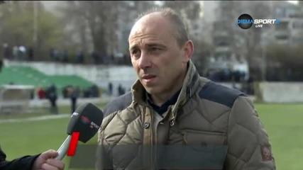 Илиан Илиев: Не съм доволен от играта, а не от резултата