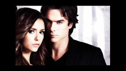 Damon and Elena [scream]