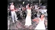 Богата циганска - свадба. Булката каца с въртолет