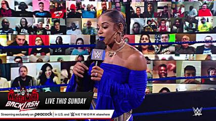 Bianca Belair and Bayley engage in war of words ahead of WrestleMania Backlash: SmackDown, May 14, 2021