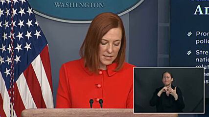 USA: Biden holds first phone call with Putin - WH press sec Psaki