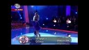 Dancing Stars Вики и Али румба [oтпадането на Тодор Кирков]