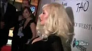 Christina Aguilera at Tao Stephen Webster Las vegas Interview