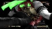 Mortal Kombat 9 - Геймплей на играта подържани платформи Xbox 360 Ps 3
