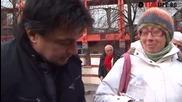 Репортерът Искрен Пецов на първа мисия пред Централна баня