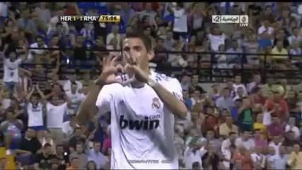 Реал Мадрид vs Херкулес [ Всички Голове ]