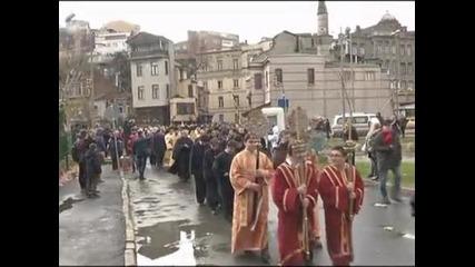 Гръцката православна общност в Истанбул празнува Благовещение