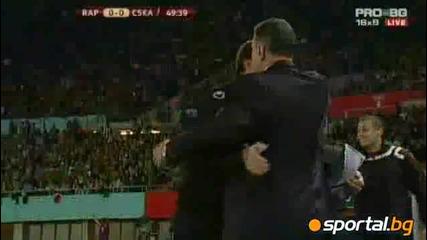 Sk Rapid Wien 1 - 2 Cska Sofia