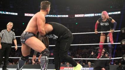 The Miz informs Asuka that he no longer trusts her in WWE MMC Playoffs