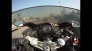 Хонда cbr 1100 xx super blackbird бул. България 26.02.2011