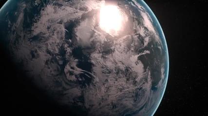 Земята. Изглед от Космоса [hd]