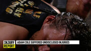 Is Adam Cole OK after McAfee's punt?: NXT Injury Report, Aug. 6, 2020