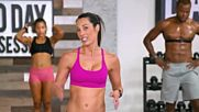 Autumn Calabrese - Day 76 Cardio Flow Peak Weak. 80 Day Obsession