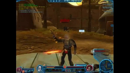 Star Wars The Old Republic Beta Bounty Hunter Gameplay Part 3 of 8