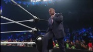 smackdown 6th june, 2014 seth rollins interferes in the orton vs big show match