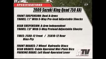 Atv Test - 2009 Suzuki King Quad Axi