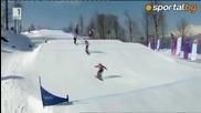Александра Жекова се размина с медала в Сочи