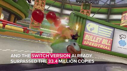 'Mario Kart 8' is the best-selling racing game
