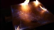 Когато огън и музика се срещнат в 2 D тръба