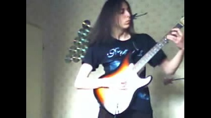 Nightwish - The Kinslayer (cover By Me)