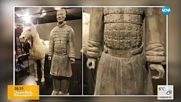 Американец открадна пръст от статуя на 2000 години