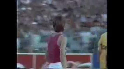 Вижте как Стефка Костадинова скача 209 cm