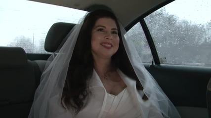 Антония на път към ритуалната зала - Женени от пръв поглед (18.03.2015г.)