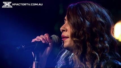 Журито настръхна. X-factor Австралия 2013