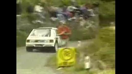 Звуци от Рали Автомобилите на Група Б !! Част Втора