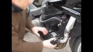 Supercharged Honda Cbr1100xx Super Blackbird