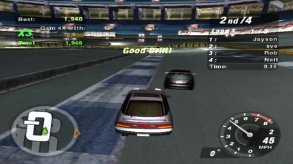 My First Drift In Need For Speed [ N F S ] Underground 2