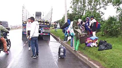 Colombia: Venezuelan migrants stranded as Ecuador tightens entry rules