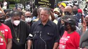 USA: Jesse Jackson among those arrested in Capitol rally for voting rights