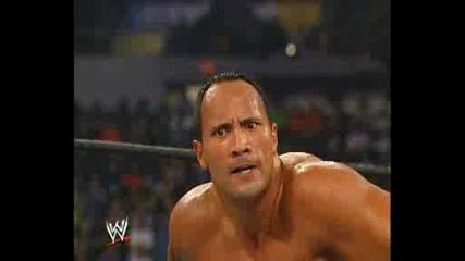 Summerslam 2002 - Скалата vs Леснар