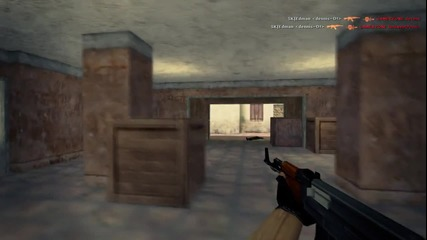 Xperia Play 2011: dennis vs Gamerzone ( Counter - Strike 1.6 )