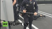USA: One arrested after scuffles break out at Armenian 'March for Justice'