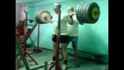 Краси Крачунов - Клек С 1х1 - 270кг!!!