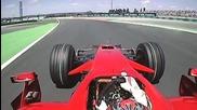 F1 France 2008 Onboard lap